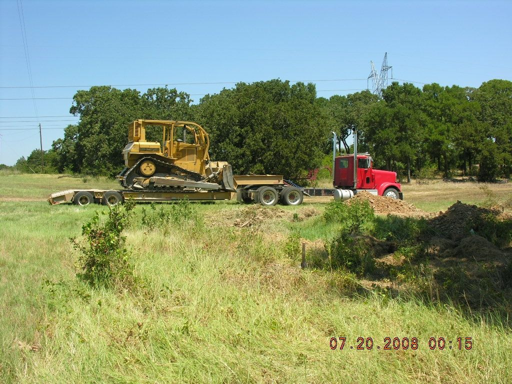 D6 Dozer and Truck