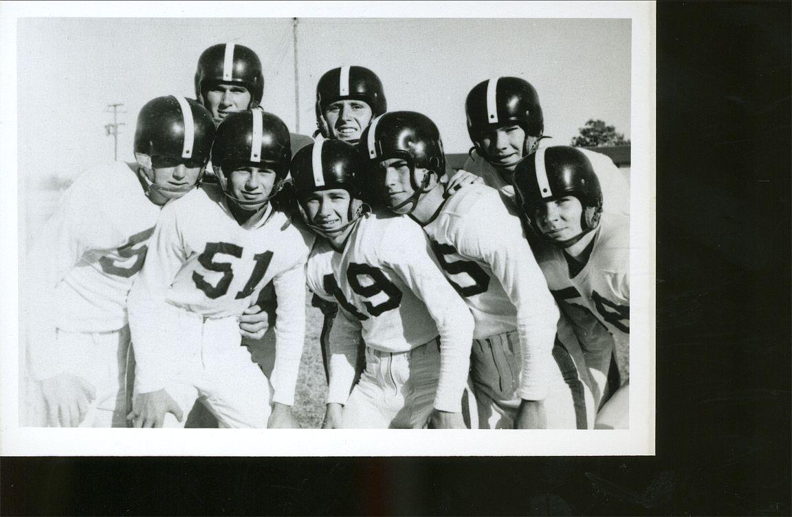 Joe Okonski # 51     1954  Bremond High School