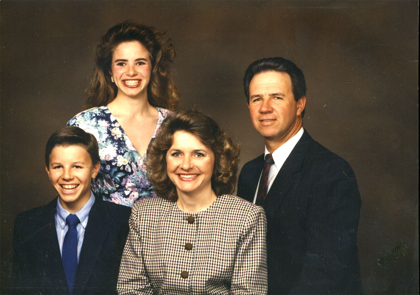 Larry, Valeria, Delynn and Daryl Okonski