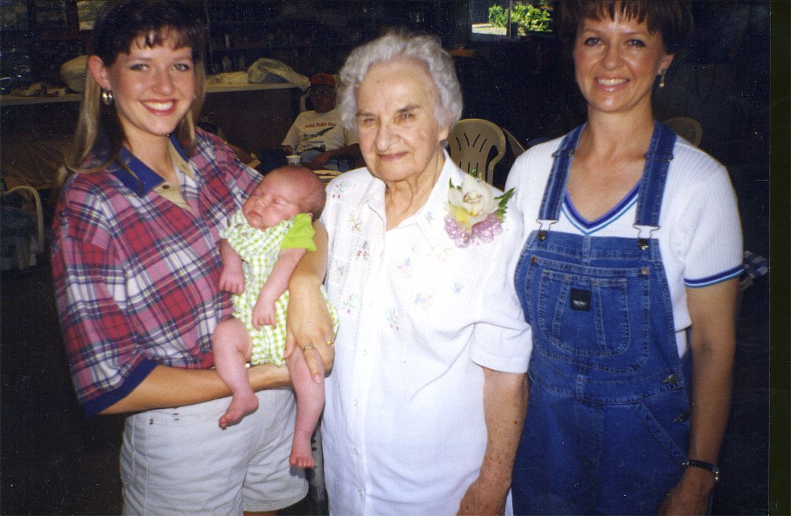 Four Generations Helen, Helen, Jennifer, Macy