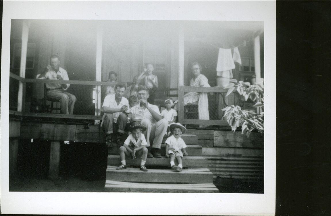 Pete & Del Nowak, Tony, Ronnie & Donny Nowak Ed, Helen, Gene Okonski 1952