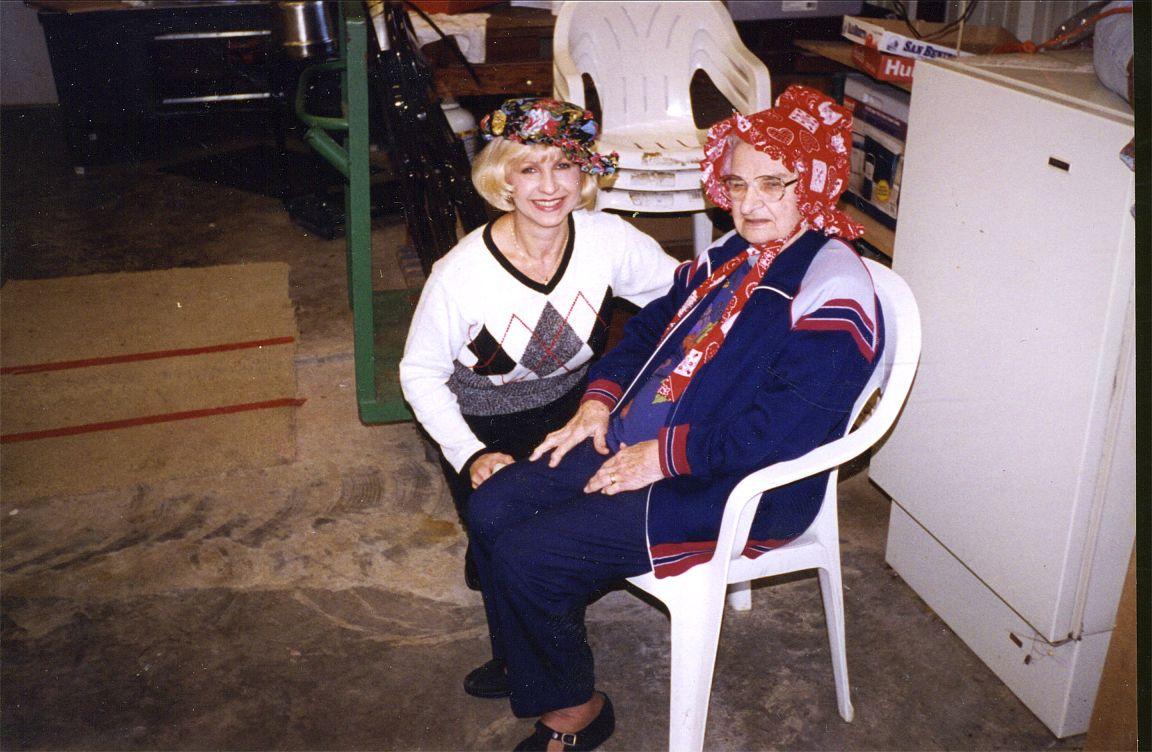 Helen Okonski & Dolores    1990s