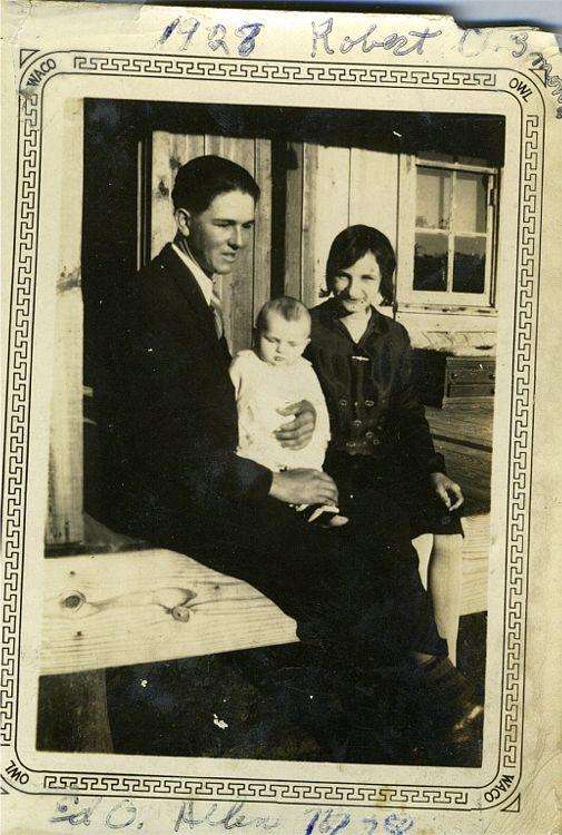 Ed, Helen, Robert 1928