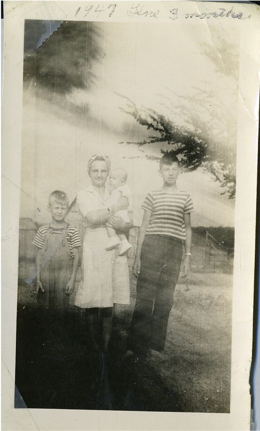 Joe, Helen, Gene, Ed jr May 1947