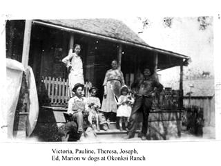 Picture of Old Home Place in 1921