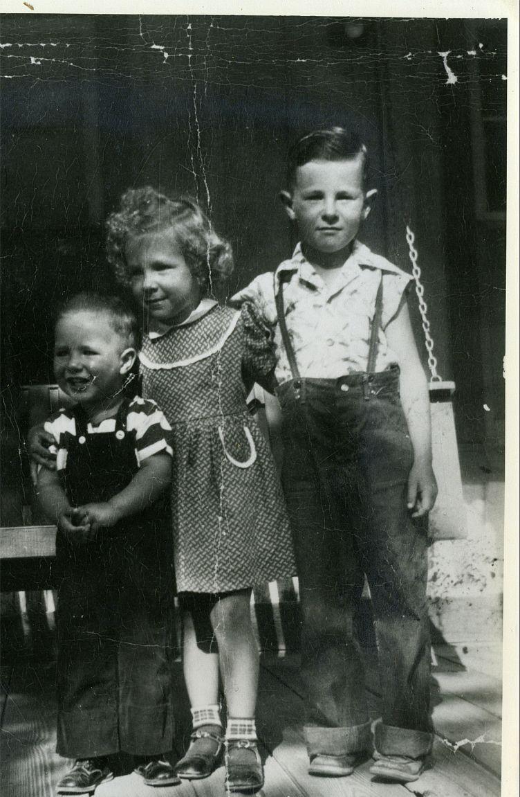 Larry, Dolores, Gene 1953