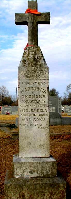Marianna died 10/15/1892