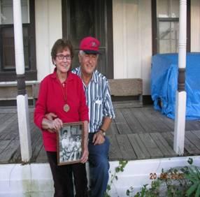Gene holding Sadie in 2007