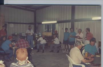 "Steve and Carol Bashinski in 1991 --  ""Okonski HomePlace"""