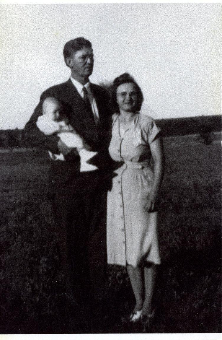 Ed, Helen & Gene 1947