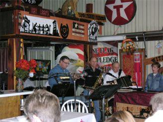 Charles Nemec Band Charles Nemac, Eddie Miller, Harold Strand