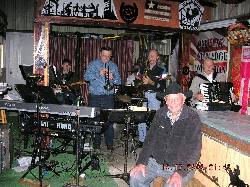 Band & Harry Paul Okonski 95th Birthday