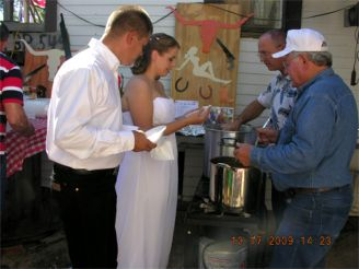 Newly weds - Keith & Dee Rekieta