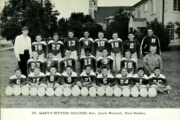 St Mary's Kittens -- 1958