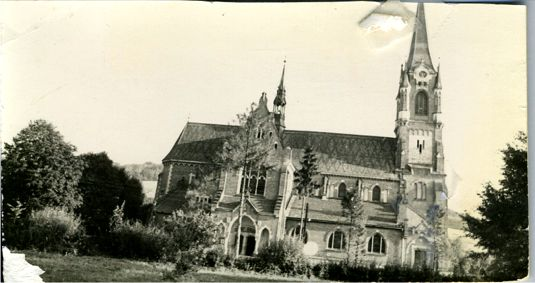 Sophie Nykiel Nowak's Mother's Church in  Poland