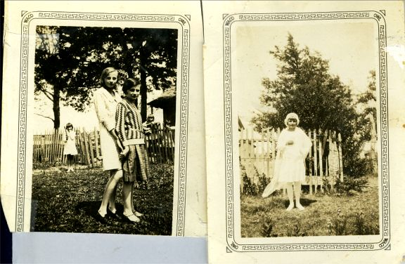 Ann, Connie, Rose  Nowak 1918            Connie Nowak 1926