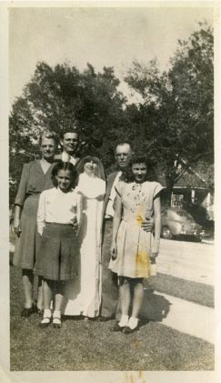 Stanley & Josie Nowak Bielamowicz Children Leon Sister Florence Julie and Dolores