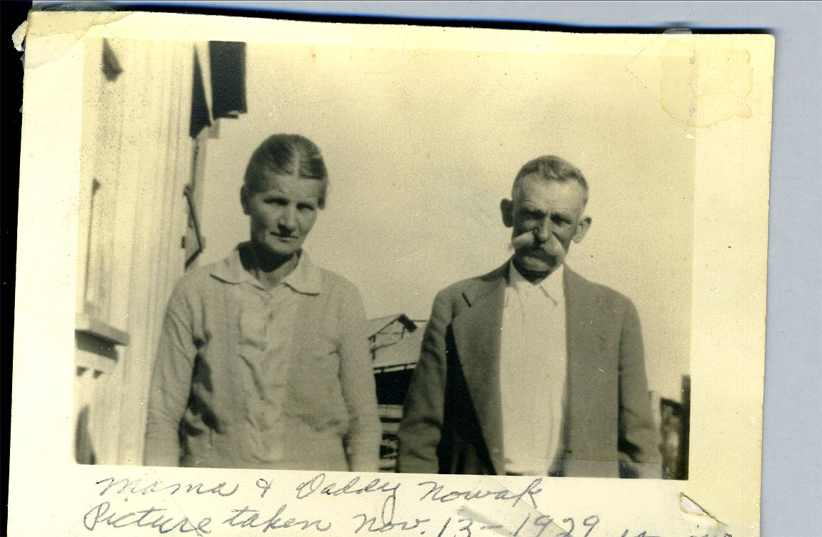 Michael & Sophie Nowak Nowak Home Place Nov 13 1929