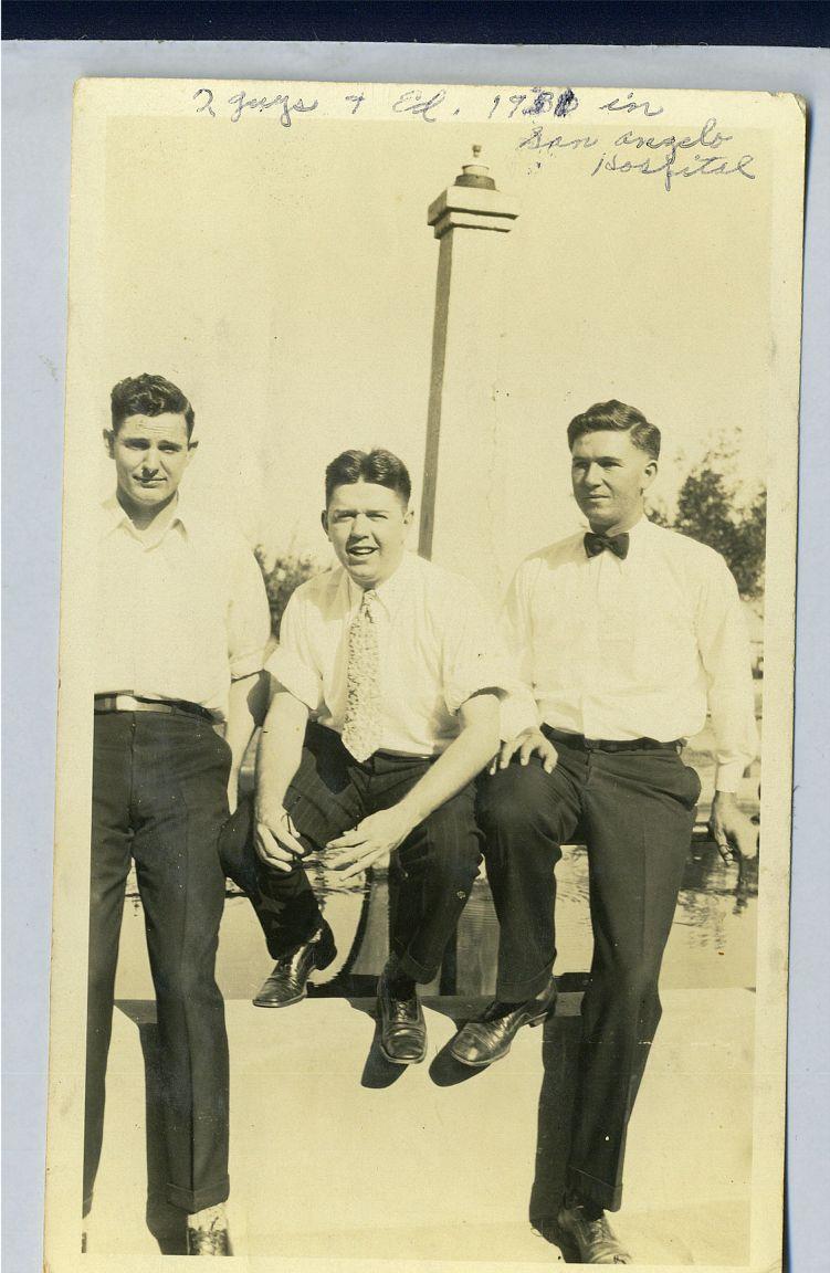 Ed Okonski, San Angelo 1931