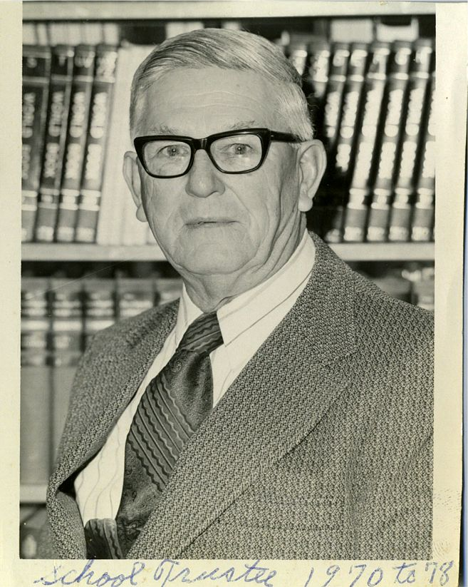 Ed Okonski School Board 1970-1978