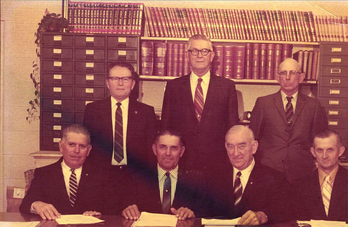 Bremond School Board 1970's