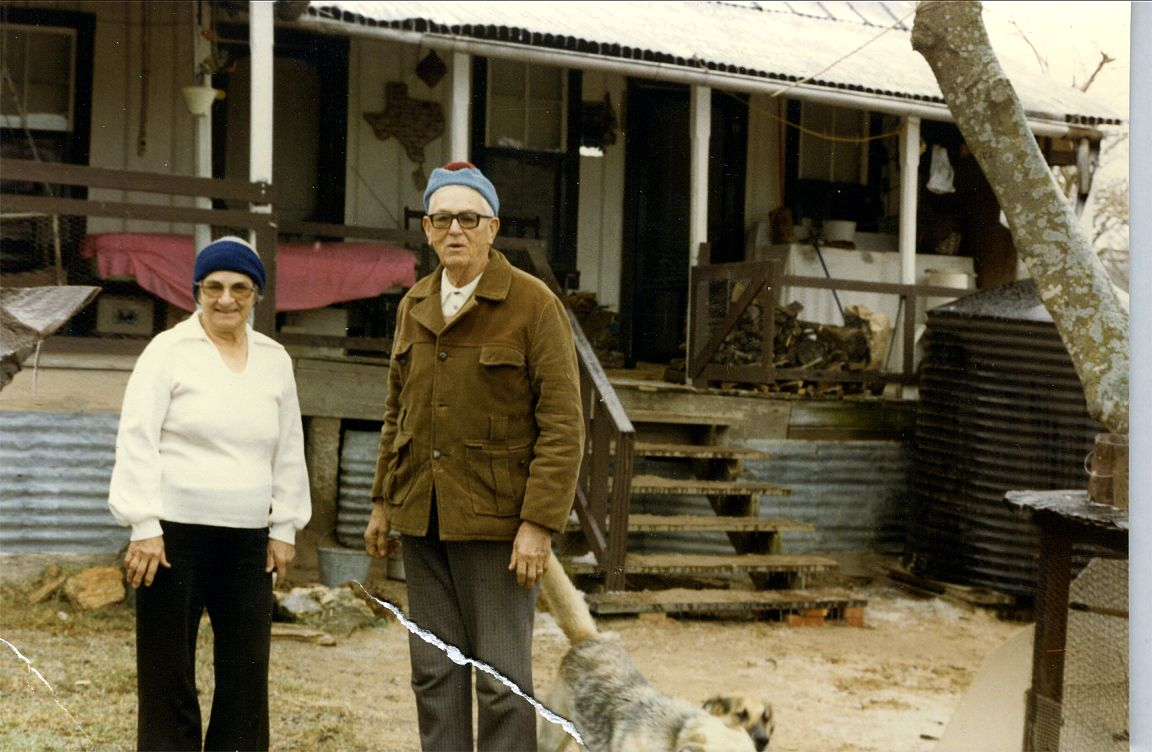 Ed and Helen Okonski at Old Home Place