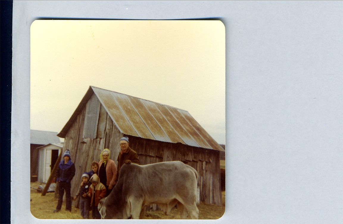 Ed Helen Kevin, Daryl, Keith, Tom Red Top Bull 1979