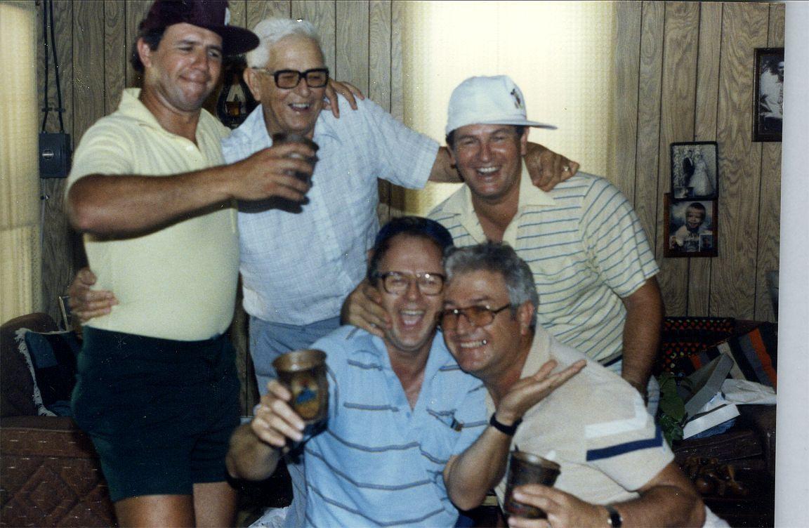 Larry, Ed, Gene, Joe, Ed jr