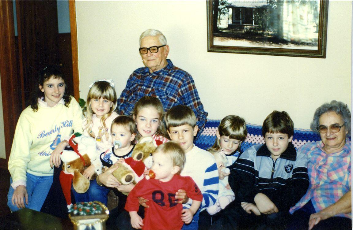 Ed, Helen & Grandchildren 1979