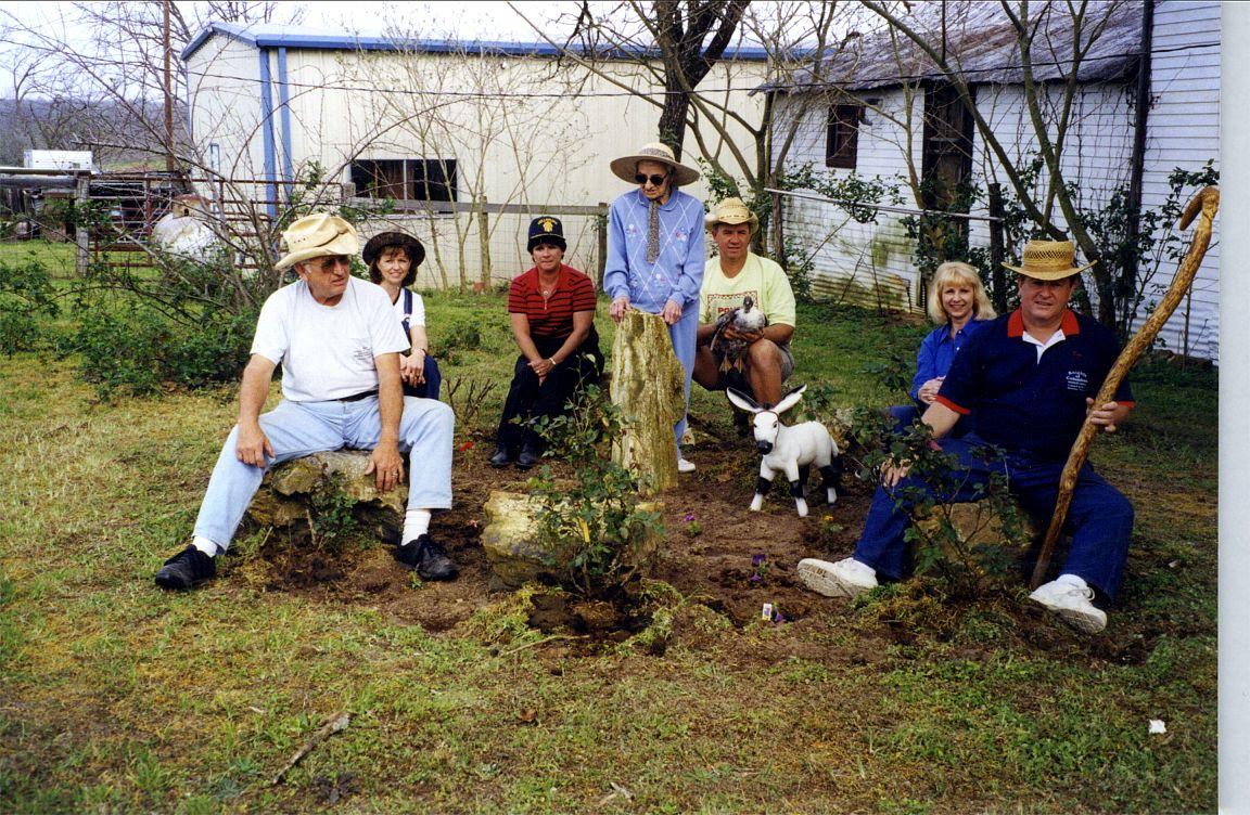 1992 Helen, Ed Joe, Gene, Dolores, Mary Ann, Helen