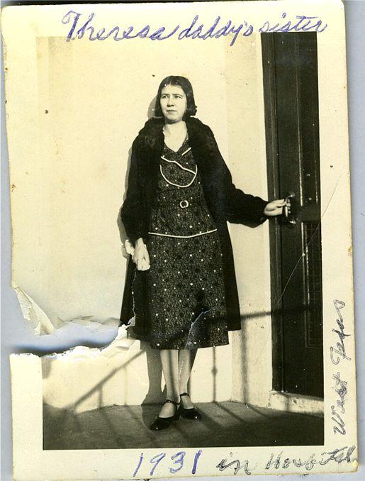 Theresa Okonski   San Angelo, Tx   1931
