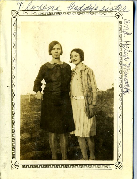 Florence Okonski  & Helen Novak 1931