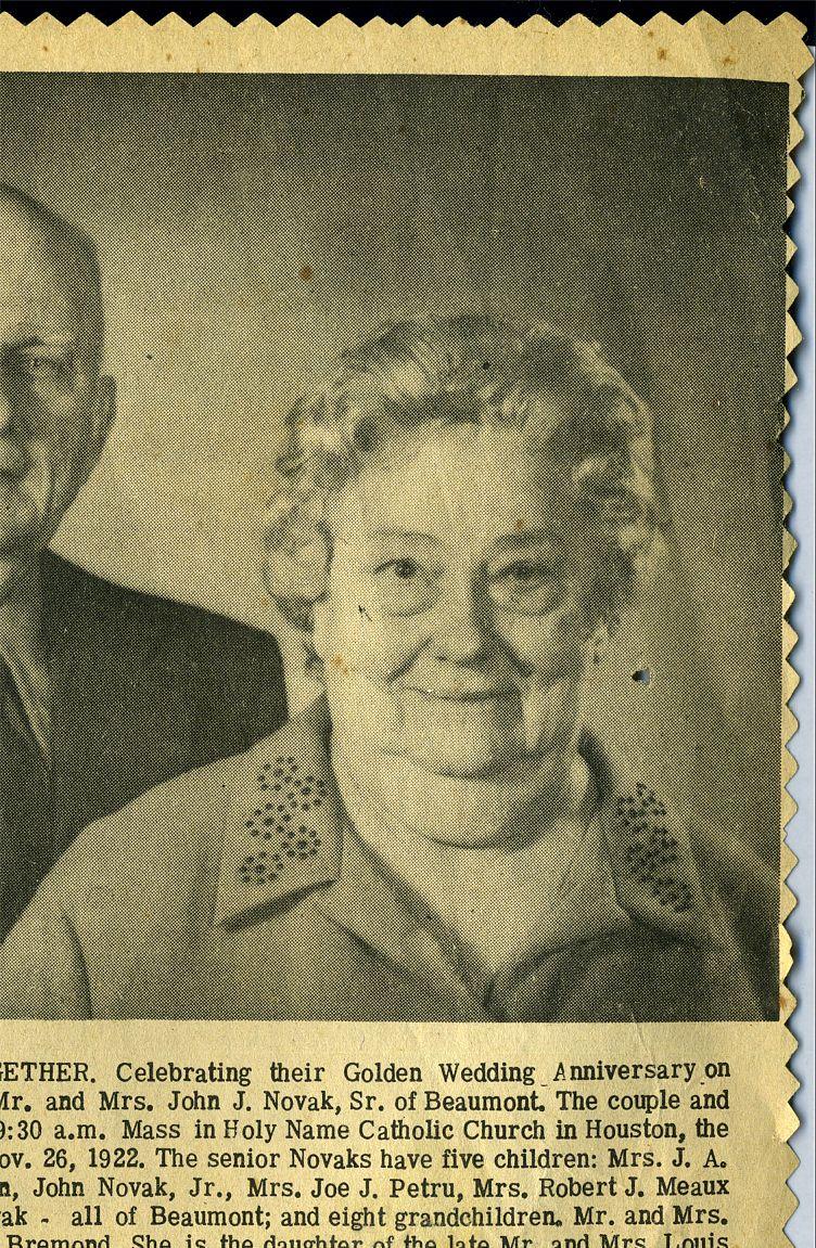 John & Verna Novak 1972