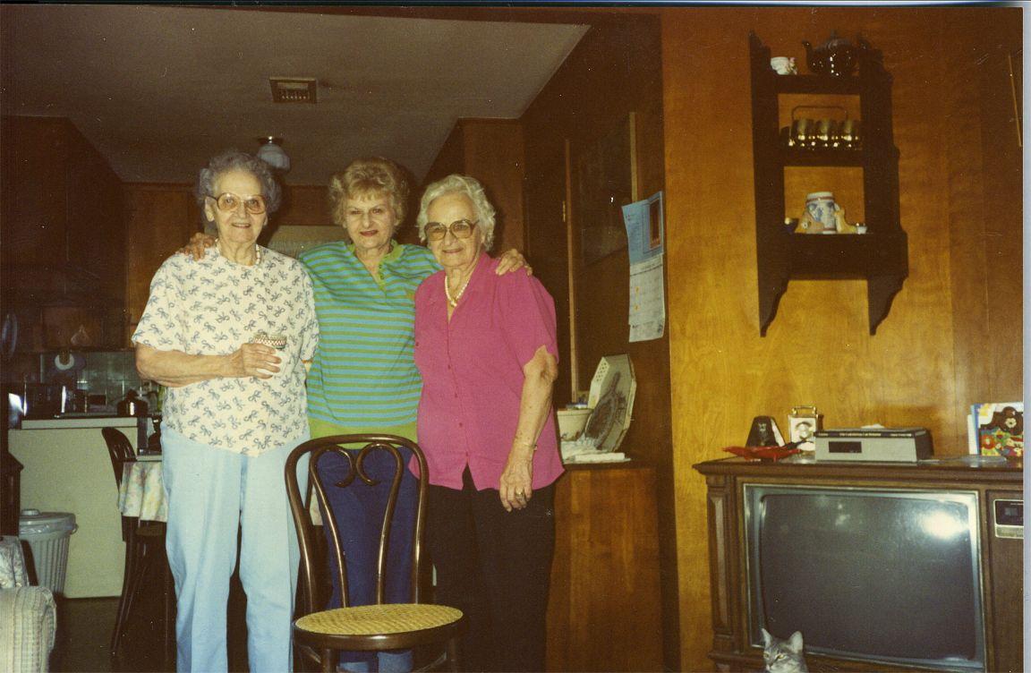 Vickie & Helen Okonski Ann Gleason