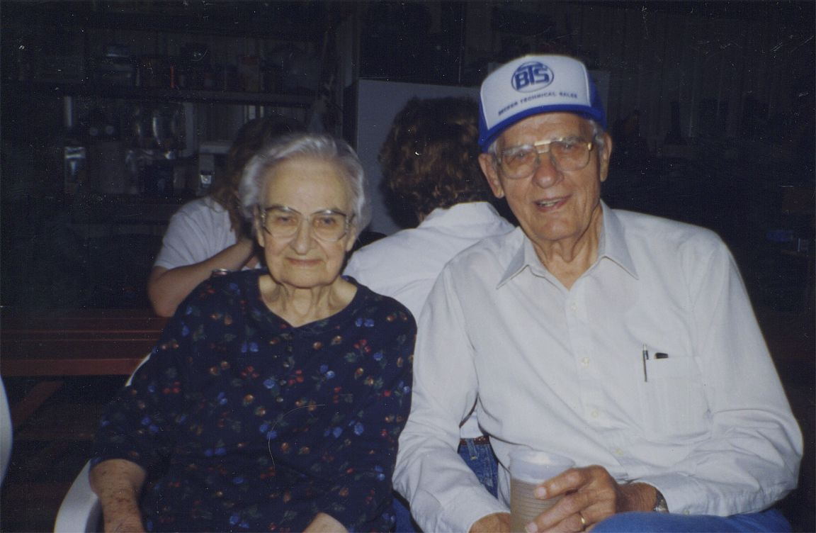 Helen Okonski and brother, Stanley Nowak