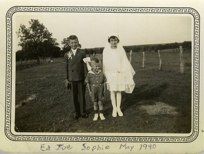Ed Joe Sophie Okonski May 1940