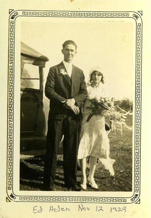 Ed & Helen Okonski November 12, 1929