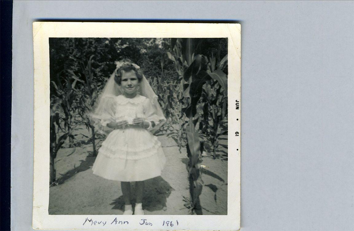 Mary Ann June 1961