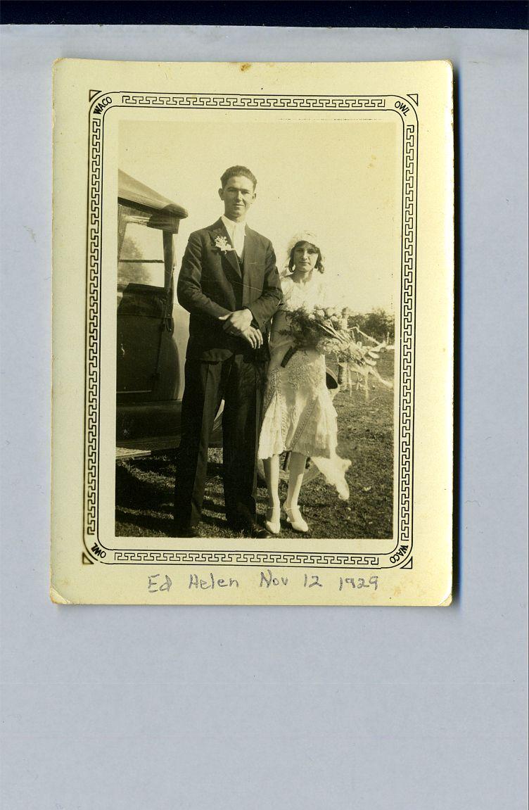 Ed & Helen November 12, 1929